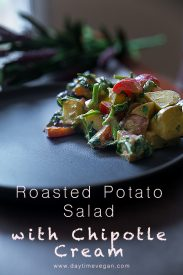 Roasted Potato Salad with Chipotle Cream